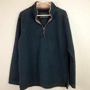 True Grit 3/4 zip pullover Size Medium